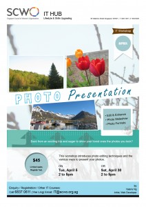 SCWO Photo Presentation Workshop
