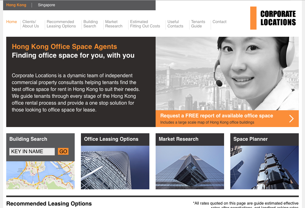 Corporate Locations HK
