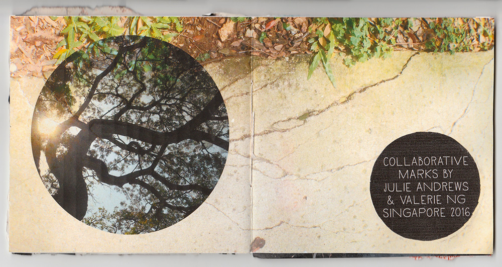 A Handmade Photo and Collage Book