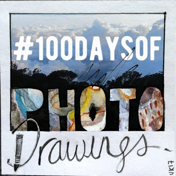 100 days of photo drawings