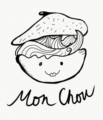 Cream Puff Illustration