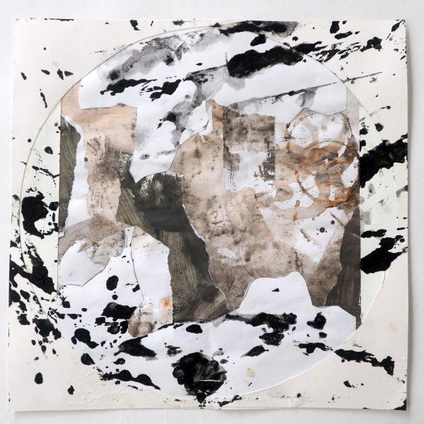 Black Circle Brown Collage